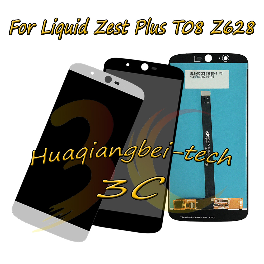 New 5.5 For Acer Liquid Zest Plus T08 Z628 Full LCD DIsplay + Touch Screen Digitizer Assembly Black / White 100% TestedNew 5.5 For Acer Liquid Zest Plus T08 Z628 Full LCD DIsplay + Touch Screen Digitizer Assembly Black / White 100% Tested