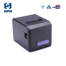 купить High Quality Wifi & LAN POS 80mm Thermal receipt printer with auto cutter and order reminder support 58mm & 80mm paper HS-E81ULW по цене 5803.19 рублей