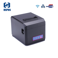 Fast 300mm/s printing Wifi LAN USB Bluetooth POS 80mm Thermal Receipt Printer with Auto Cutter Support Android Windows Printing