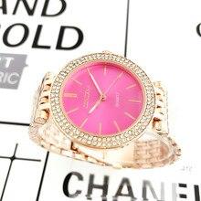 Moda de Prata Senhoras Relógio Relógios das Mulheres Strass Relógios De Luxo Mulheres de Aço Completo Relógio saat relogio feminino