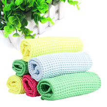 3Pcs/lots Microfiber Rags Kitchen Towels For Cleaning Home Garden  Quick Drying Cleaning Cloth Color Deliver Randomly P0.2
