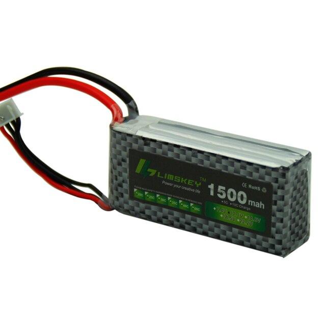 Limskey POWER 3S 11.1V 1500MAH pour télécommande modèle avion batterie 3S li-po batterie 11.1v Lipo batterie 5 pièces/lot T/XT60/JST