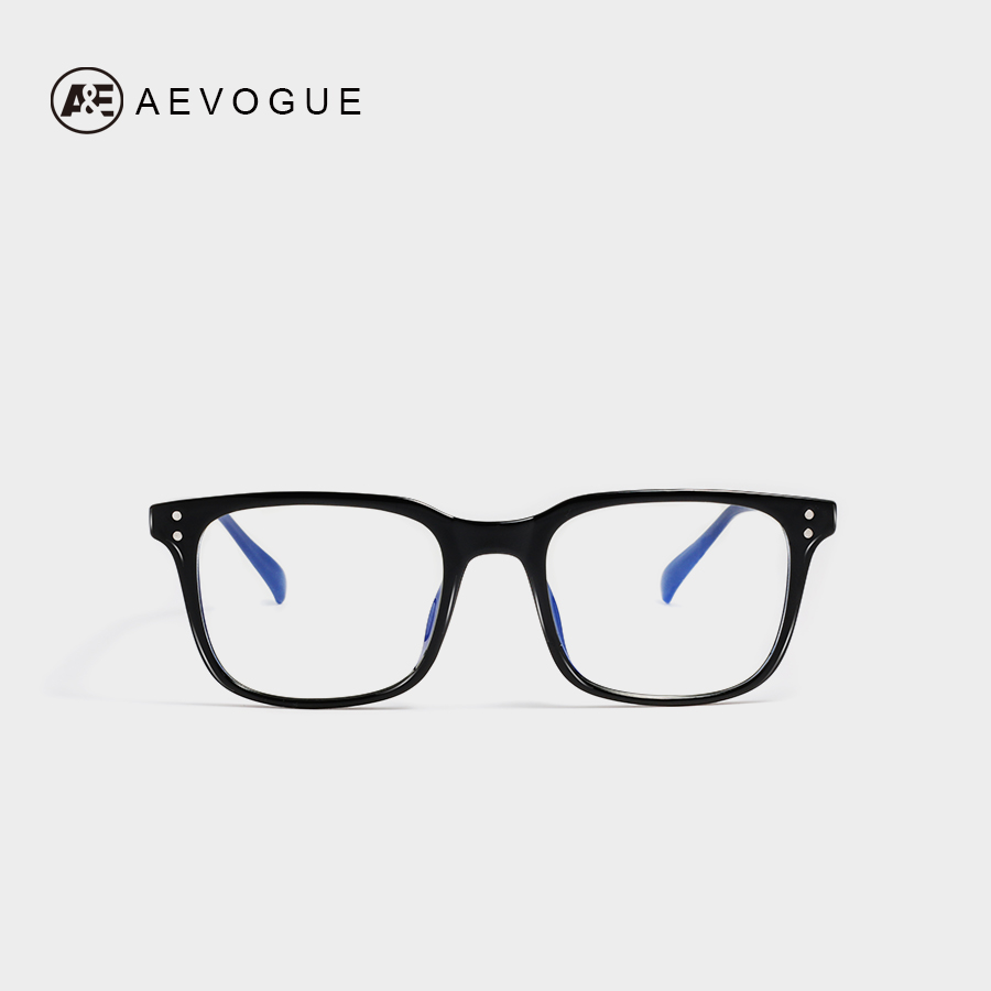 AEVOGUE Eyeglasses Women Anti Blue Light Blocking Reduces Digital Eye Strain TR90 Frame Clear <font><b>Lens</b></font> Unisex Spectacle Frame AE0658 image