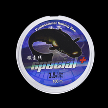 New Available 100M Fluorocarbon Fishing Line 0.1-0.6mm Carbon Fiber Leader Line brand fly fishing line pesca