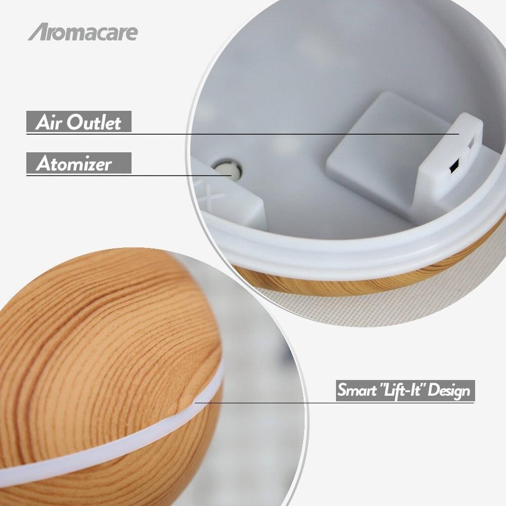 Aromacare 400ml razprševalnik eteričnega olja, ultrazvočni - Gospodinjski aparati - Fotografija 4