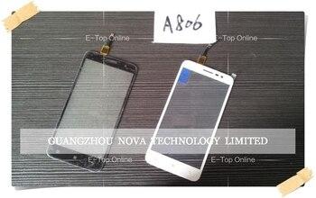 Negro/Blanco para Lenovo A806 A808t A8 Digitalizador de pantalla táctil reemplazo + seguimiento