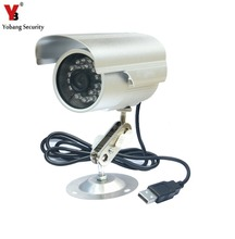 YobangSecurity Waterproof USB Outdoor Security Camera TF Card With Night Vision Surveillance Bullet CCTV Camera Video Recorder
