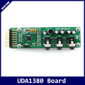 Waveshare UDA1380 Board I2S Interface Stereo MD CD Mp3 Audio Voice Module Coder Decoder Module