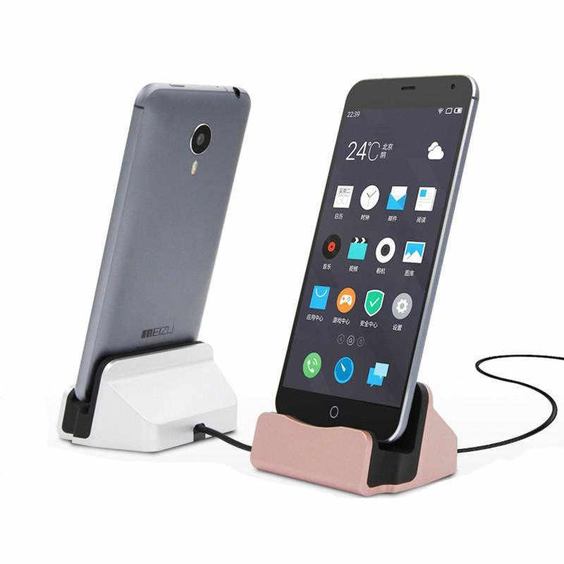 Untuk Xiaomi Mi 9 Mi 9 Se Docking Charger Micro USB Tipe C untuk Xio Xio 9 Se F1 5X 6X A1 A2 lite Merah MI 6 Pro Y3 K20 Pro Desktop Sation