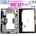 STARDE LCD para Asus Memo Pad ME301 ME301T 5280N K001 pantalla LCD de montaje de digitalizador con pantalla táctil marco N101CG-L21 LCD partes