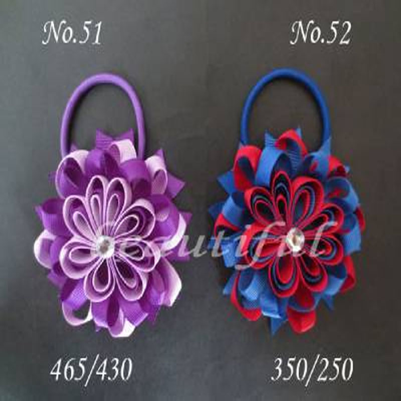 200 BLESSING Good Girl Boutique Modern Style B Bird's Nest Hair Bow Clip 200 No.