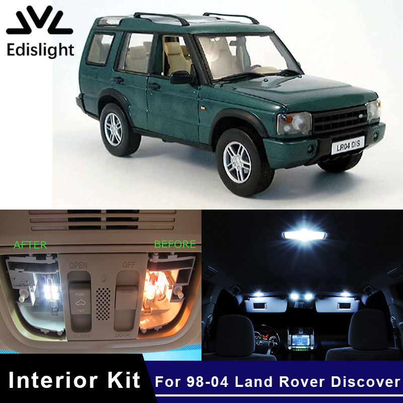 1998 Land Rover Discovery Interior: Edislight 13Pcs Ice Blue Canbus LED Lamp Car Bulbs