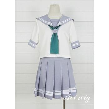 New LoveLive! Sunshine Cosplay Costume School Uniform Cosplay Sailor Uniform Adult Costumes Halloween Costumes for Women S-XL 1