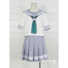 New LoveLive! Sunshine Cosplay Costume School Uniform Sailor Adult Costumes Halloween for Women S-XL