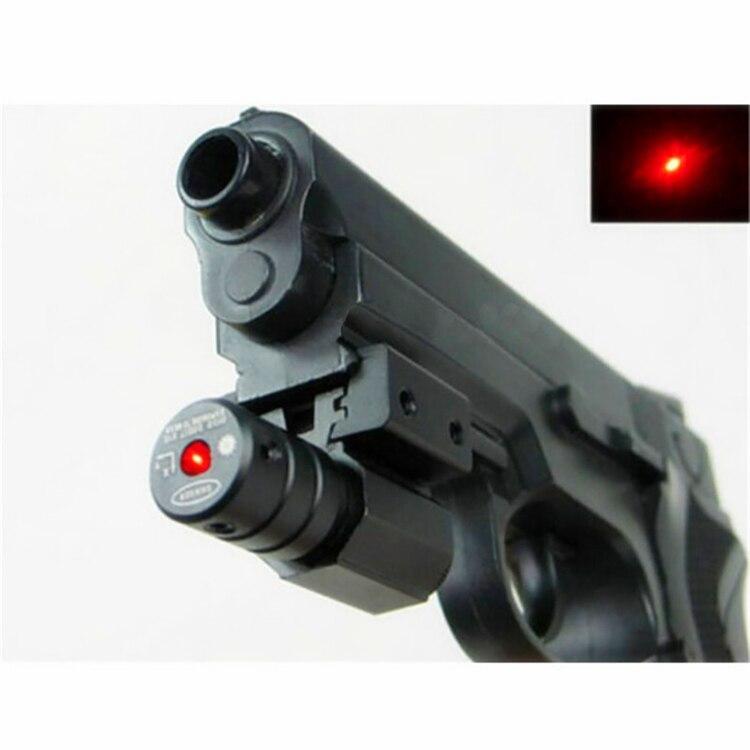 Spike JG5-1 Tactical Pistol mini 5mw ajustable mira punto rojo mira - Caza - foto 3