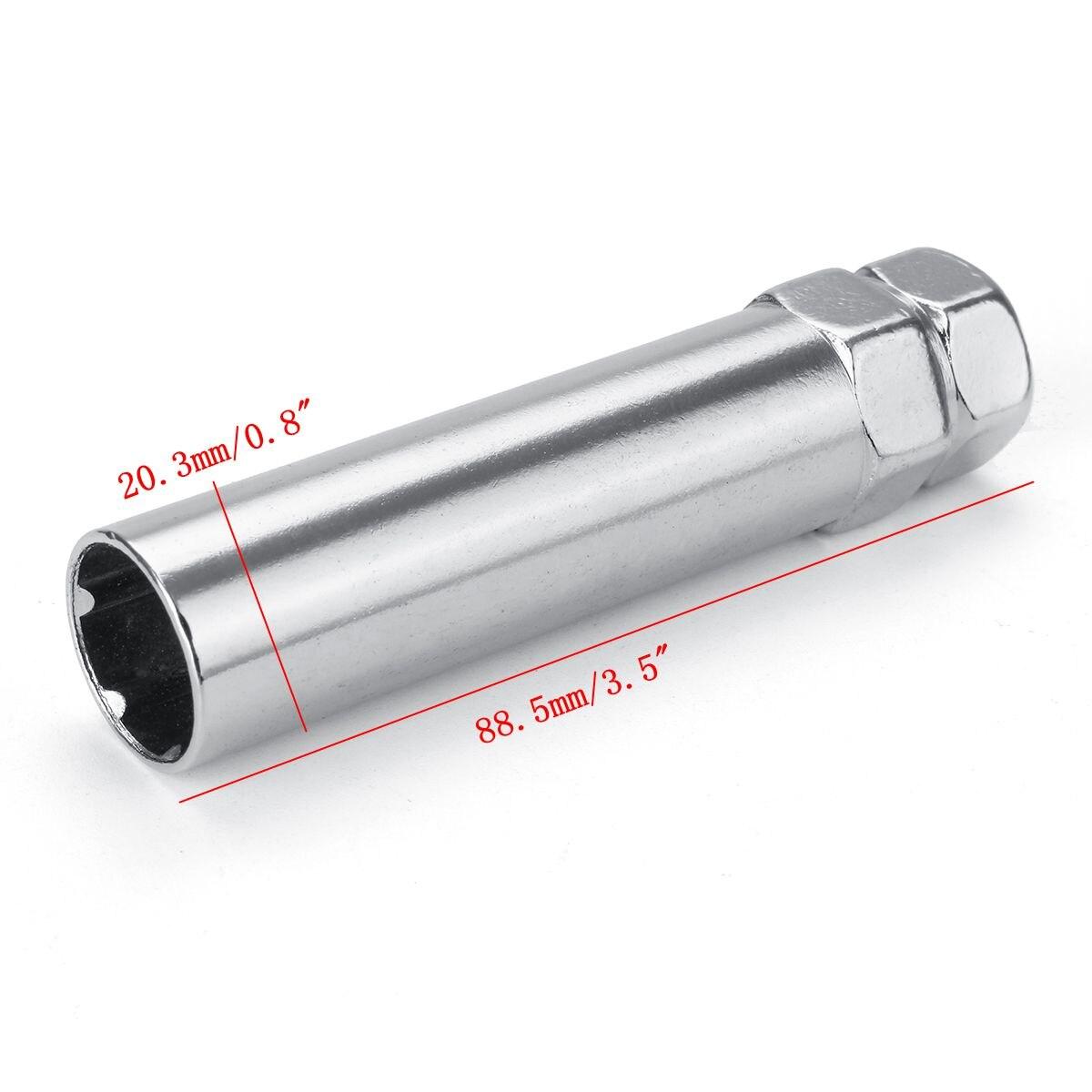 Adapter key for 6-Spline Wheel bolts//nuts 17//19mm head