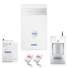 2016  Wireless Alarm Systems New arrival  Security Home alarm Burglar Android/iPhone APP Controlled GSM Remote control home