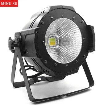 18 Einheiten LED Par COB Licht 100 W High Power Aluminium DJ DMX Led Strahl Waschen Strobe Wirkung Bühne Beleuchtung, Kühlen Weiß Und Warmweiß