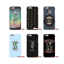 Accessories Phone Shell Covers tv riverdale SouthSide Serpent For Samsung Galaxy A3 A5 A7 J1 J2 J3 J5 J7 2015 2016 2017