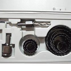 Корончатые сверла 19-127 мм оправки пилы Деревообработка отверстие пилы Набор для резки набор сверлильный инструмент дерево металл резак