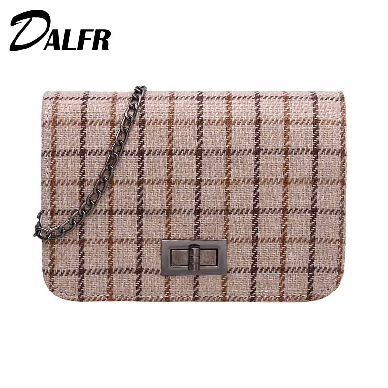 DALFR Famous Brand Women Shoulder Bag Luxury Women Flap Bag Designer Women Crossbody Bag and Evening Bags Mochila Feminina