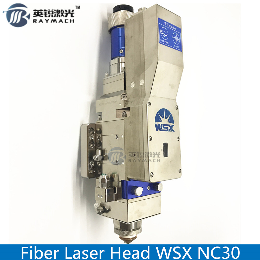 Fiber Laser Cutting Head Wsx Fiber Head Wsx Nc30 Model Fiber Laser Spare Parts Original Automatic Focusing High Power QBH