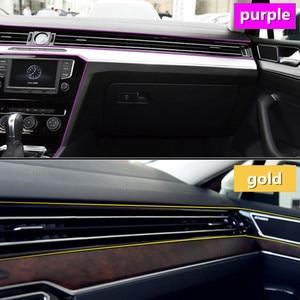 Image 4 - 3 mt 5 mt Auto Styling Innen Außen Dekoration Streifen Aufkleber für BMW E46 E52 E53 E60 E90 F01 F20 f10 F30 X1 X5 Auto Zubehör