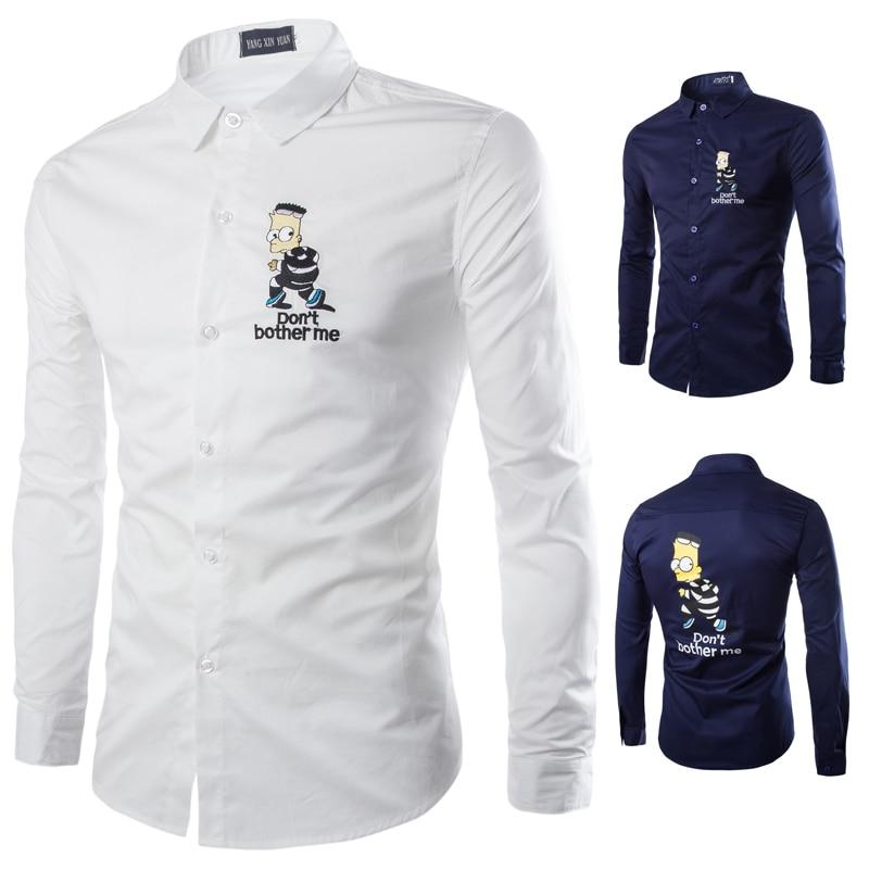 Aliexpress Ebay Autumn And Winter Men S Shirts Korean Embroidery Shirt Coat Men Shirts Casual Shirts Aliexpress