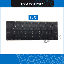 Brand New Laptop A1534 Keyboard US Layout For Macbook Retina 12″ A1534 Replacement Keyboard Mid 2017 EMC 3099