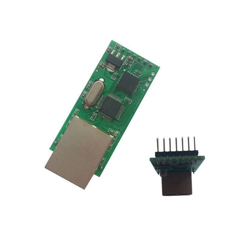 Ethernet to RS232 serial port TTL TCP/IP RJ45 converter transmission module rs232 to rs485 converter with optical isolation passive interface protection