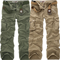 Fashion Military Pants Men Camo Camouflage Baggy Trousers Outdoors Casual Cotton Cargo Pants Men Multi Pockets Overalls Big size