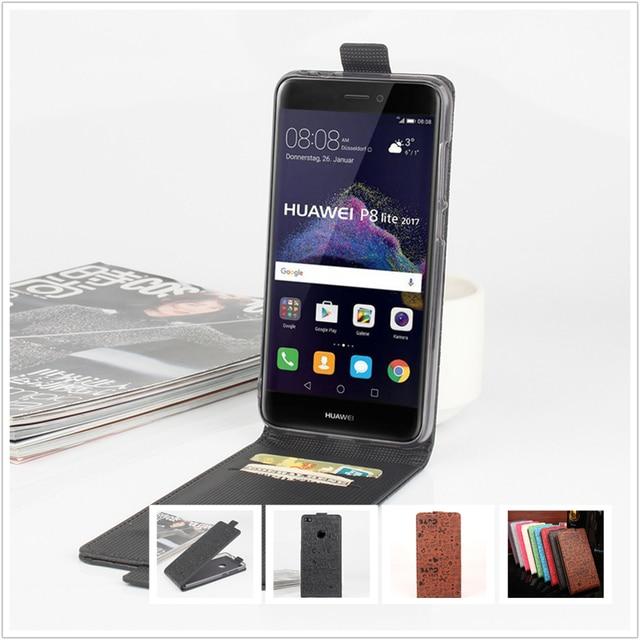 Faerie leather Case For Huawei P8 Lite 2017 / P 8 Nova Lite 2017 PRA-LA1 PRA-LX1 Cellphone Flip Cover Case Housing Phone Shell