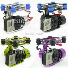 RTF 2 Axis Metal Brushless Gimbal w/ BGC Controller Board 2208 Motors for GoPro 3 Camera 1 2