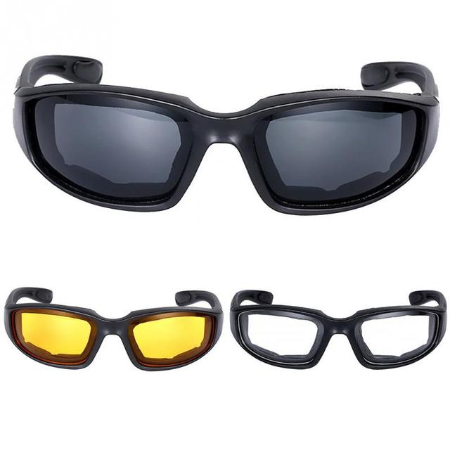 b037585ced Glasses Wind Resistant Shatterproof Goggles Eye Protection Motorcycle  Riding Glasses For Men Women