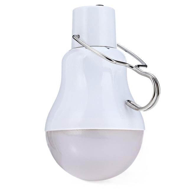 NEW 15W 30LM Solar Lamp Powered LED Bulb Light Portable Solar Energy Lamp LED Lighting Solar Panel Camp Night Travel Night Light
