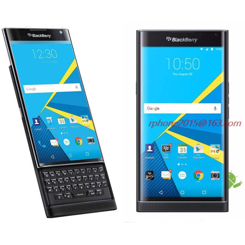 Unlocked BlackBerry Priv 5.4' Android OS 3GB RAM 32GB ROM 18MP Refurbished Cellphone