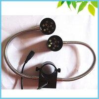 8W 12V 32mm Microscope Side Light Video Stereo Microscope Illumination LED Side Light