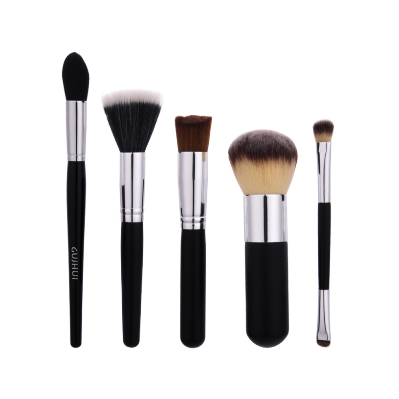 Best Deal New 5Pcs Make Up Brushes Kabuki Brushes Synthetic Hair Make Up Brush Foundation Makeup Brush Set Travel Kit клей активатор для ремонта шин done deal dd 0365