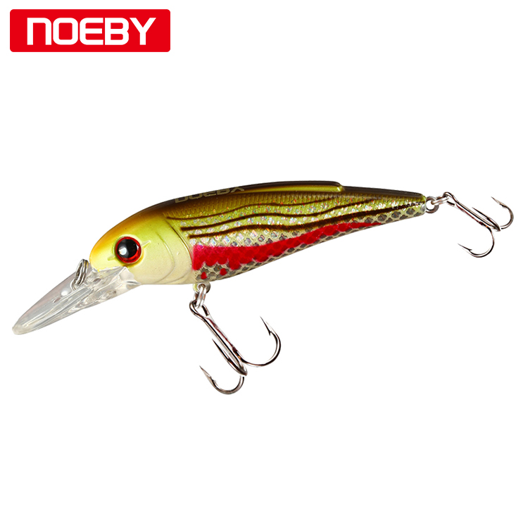 NOEBY Suspending Minnow Perch Fishing Lures Plastic Fishing Wobbler Hard Baits Swimbaits Artificial Lure Set Sea 50mm/3.9g 1pcs big sea fishing lure 140cm 42g squid lure wobbler jigs fishing lures for trolling bionic squid minnow artificial hard bait
