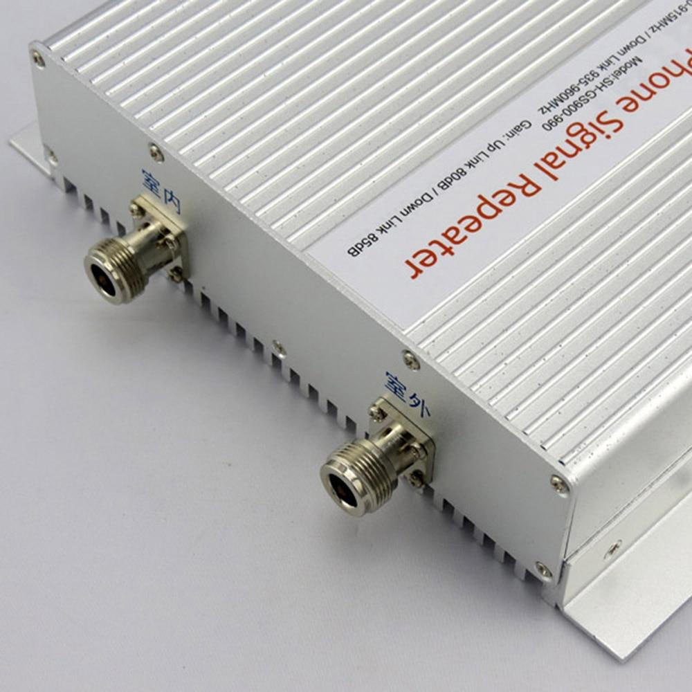 1 pièces 5000 mètres carrés appropriés 3W (35dBm) puissance de sortie GSM téléphone portable Booster Signal répéteur GSM 900Mhz amplificateur - 3
