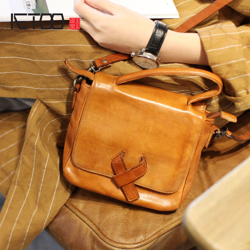 AETOO Retro art small square package Sen Department of small bag mini handbag handmade leather handbags leather leather shoulderAETOO Retro art small square package Sen Department of small bag mini handbag handmade leather handbags leather leather shoulder
