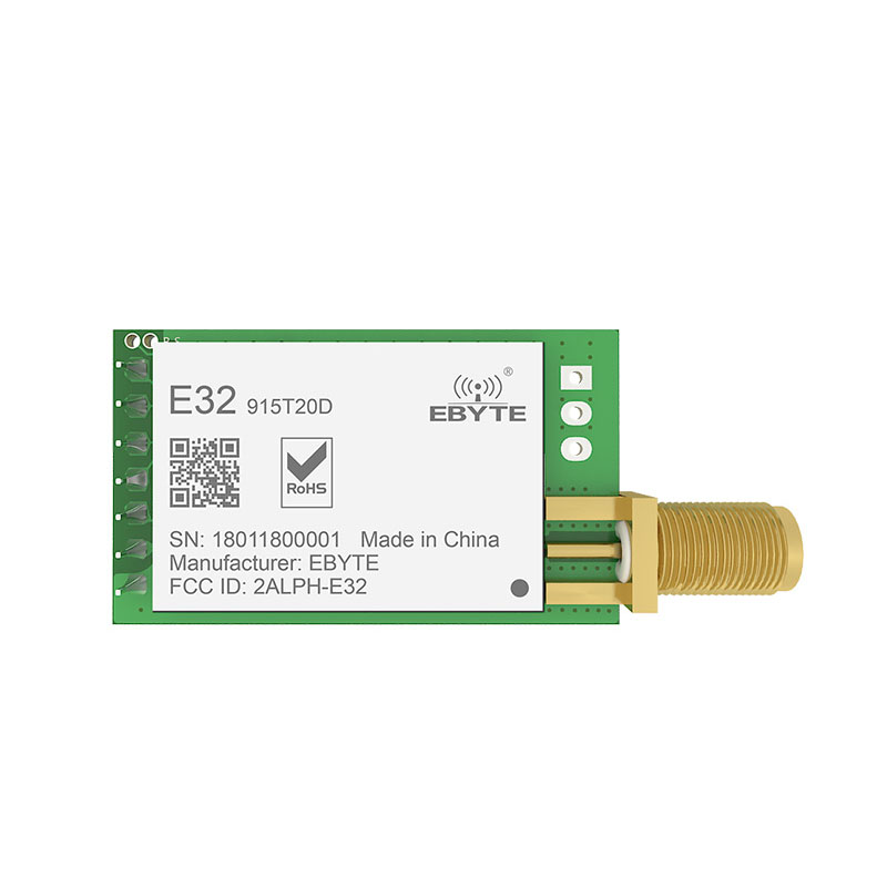Image 2 - LoRa 915MHz SX1276 rf  TCXO E32 915T20D Transceiver Wireless Module ebyte Long Range  iot UART 915 Mhz  rf Transmitter Receiver-in Fixed Wireless Terminals from Cellphones & Telecommunications
