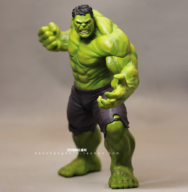 Animation Garage Kid American Superhero Collection Toys Action Figure PVC Dolls The Incredible Hulk Bruce Banner