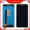 Para zte blade a610 lcd screen display toque digitador assembléia para zte voyage 4 lâmina a610 com preto cor branca ferramentas gratuitas