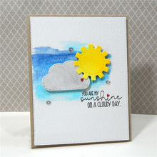 Eastshape Sunshine Metal Cutting Dies with Clear Stamps for Craft Scrapbooking Card Album Stencil New 2019