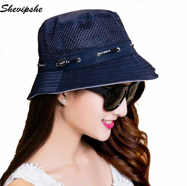 Mens Panama Bucket Hats Fishing Hat UV Protection Cap Fisherman hat Women  Beach Sun bucket Hat HipHop Hiking Sombrero Gorro c558f0eece1