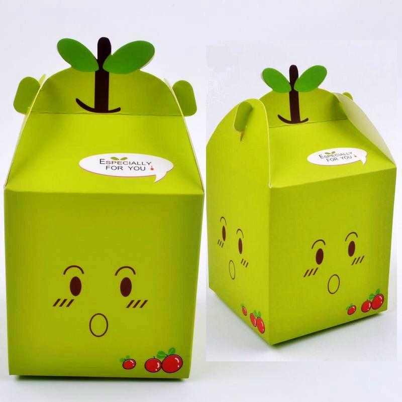 christmas apple box packaging peace fruit packing box folding box