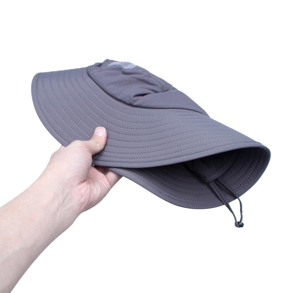 30d09625e81cc 1 Pcs Summer Womens Mens Sun Protection Windproof Fishing Cap Neck Face  Mask Flap Hat Good Quality And Protect Skin-in Fishing Caps from Sports ...