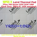 Best Quality 5.0 W/m-K, Thermal Silicon Pad 2CM*2CM*1MM, Tflex 700 Series Gap Filler Material