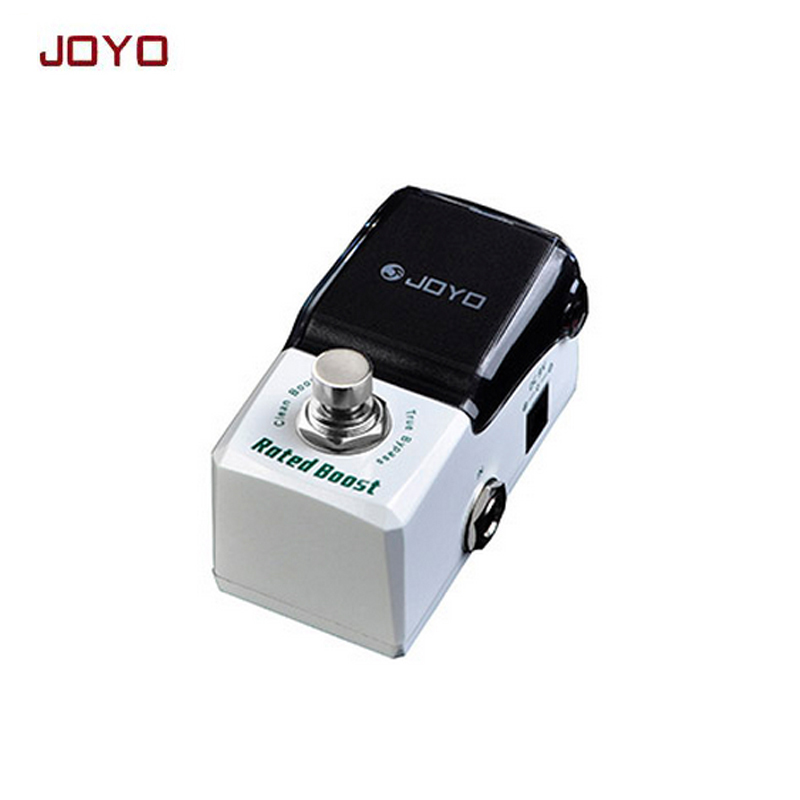 Joyo JF-301 Guitar Effect Pedal Rated Boost Clean Booster Ironman Mini Series electronic Guitarra music instrument free shipping joyo 9v dc roll boost guitar effect pedal jf38